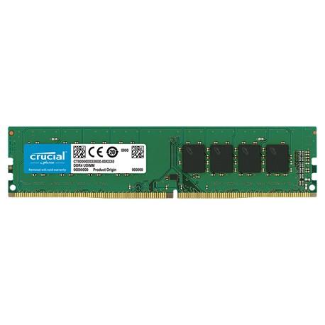 رم کروشیال 4 گيگابايت DDR4 تک کاناله 2400 مگاهرتز