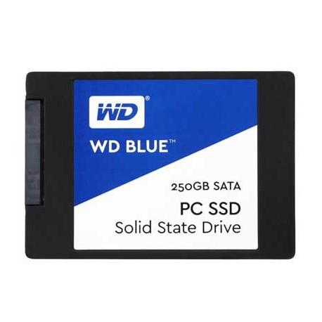 SSD وسترن دیجیتال 250 گيگابايت آبی