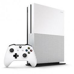 کنسول بازی مايکروسافت مدل Xbox One S ظرفيت 1 ترابايت به همراه بازی