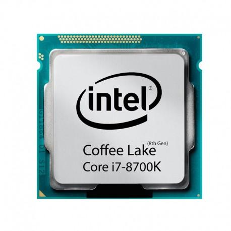 پردازنده اينتل سری Coffee lake مدل Core i7-8700K