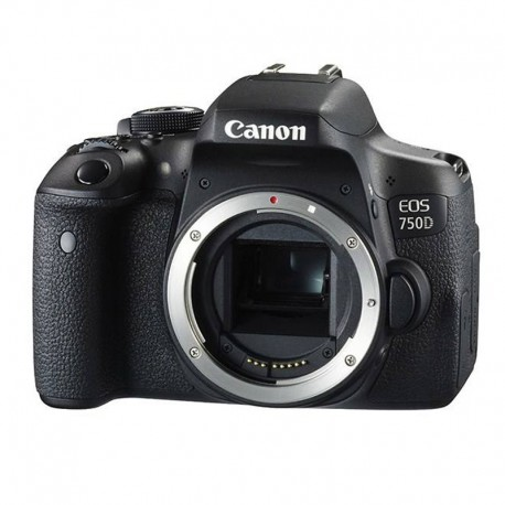 دوربین دیجیتال canon مدل EOS 750D به همراه لنز 55-18 میلی متر IS STM