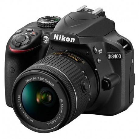 دوربین دیجیتال nikon مدل D3400 به همراه لنز 18-55 میلی متر VR