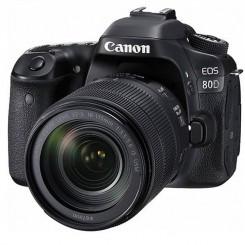 دوربین دیجیتال Canon مدل Eos 80D EF S به همراه لنز 18-135 میلی متر f/3.5-5.6 IS USM