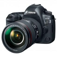 دوربین دیجیتال Canon مدل EOS 5D Mark IV به همراه لنز 24-105 میلی متر F4 L IS II