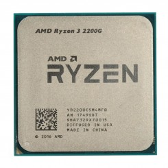 پردازنده ای ام دی RYZEN 3 2200G
