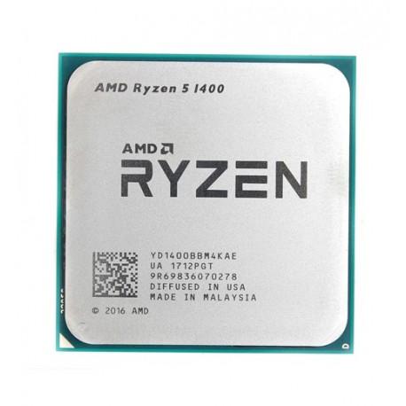 پردازنده اي ام دي RYZEN 1400