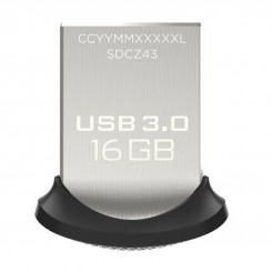فلش مموری USB 3.0 سن دیسک مدل CZ43 ظرفیت 16 گیگابایت