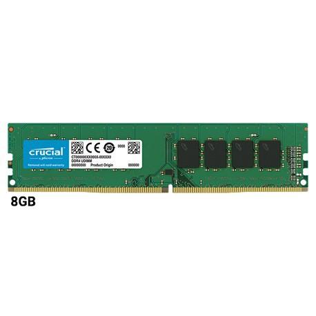 رم کروشیال 8 گيگابايت DDR4 تک کاناله 2400 مگاهرتز