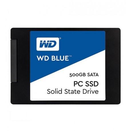 SSD وسترن دیجیتال 500 گيگابايت آبی