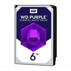 هارددیسک اینترنال وسترن دیجیتال 6 ترابایت Purple