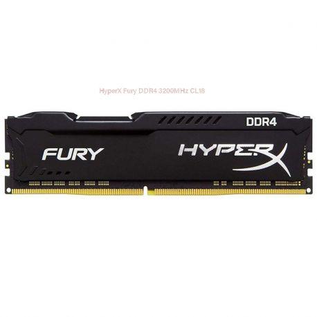 رم کينگستون 16 گيگابايت مدل HyperX Fury DDR4 3200MHz CL18