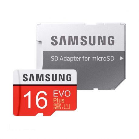 کارت حافظه سامسونگ 16 گیگابایت microSDHC EVO Plus کلاس 10