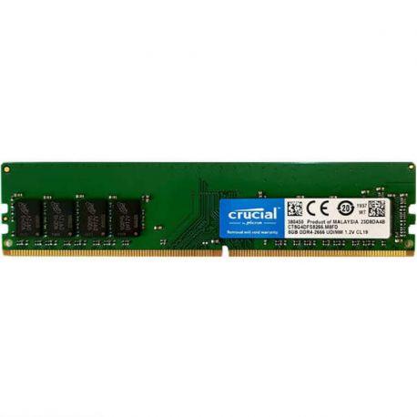 رم کروشیال 8 گيگابايت DDR4 تک کاناله 2666 مگاهرتز