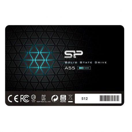 حافظه SSD سیلیکون پاور مدل ACE A55 ظرفیت 512 گیگابایت