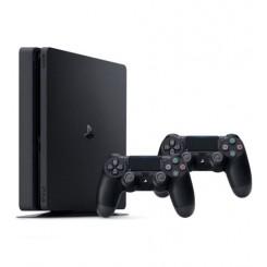 کنسول بازی Playstation 4 Slim با دو دسته بازی ريجن 2 - 500 گیگابایت