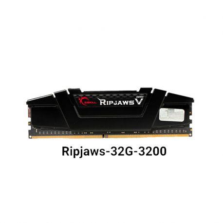 رم جی اسکیل 32 گیگابایت یک کاناله مدل Ripjaws v 3200MHz