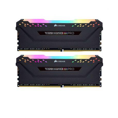 رم کورسیر 16 گيگابايت دو کاناله مدل Vengeance RGB PRO 3200MHz