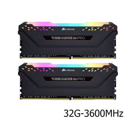 رم کورسیر 32 گيگابايت دو کاناله مدل Vengeance RGB PRO 3600MHz