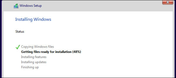 نصب ویندوز 10 روی لپ تاپ
