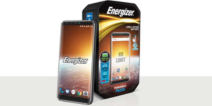 گوشی موبایل انرجایزر p600s